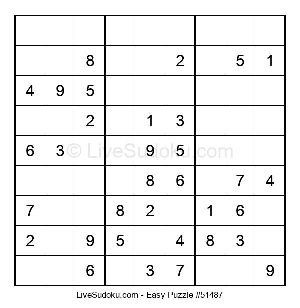Beginners Puzzle #51487