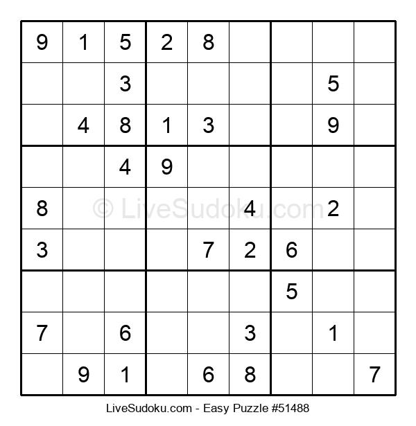 Beginners Puzzle #51488