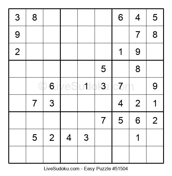 Beginners Puzzle #51504