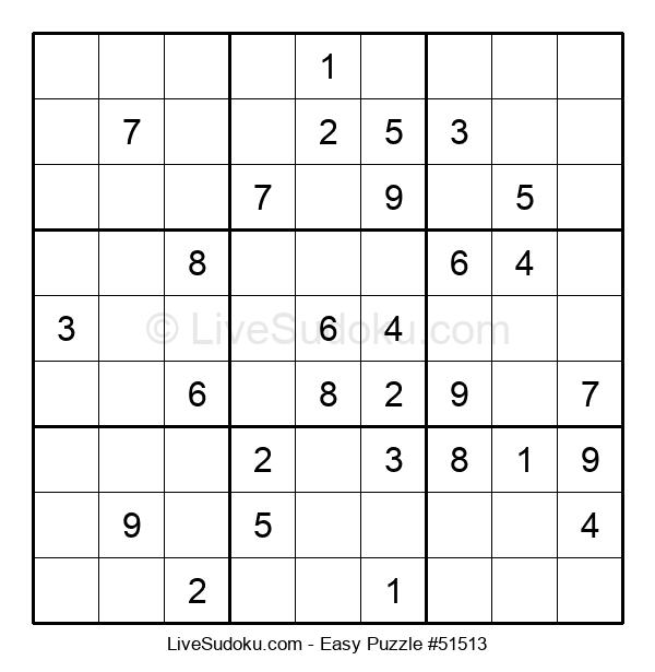 Beginners Puzzle #51513