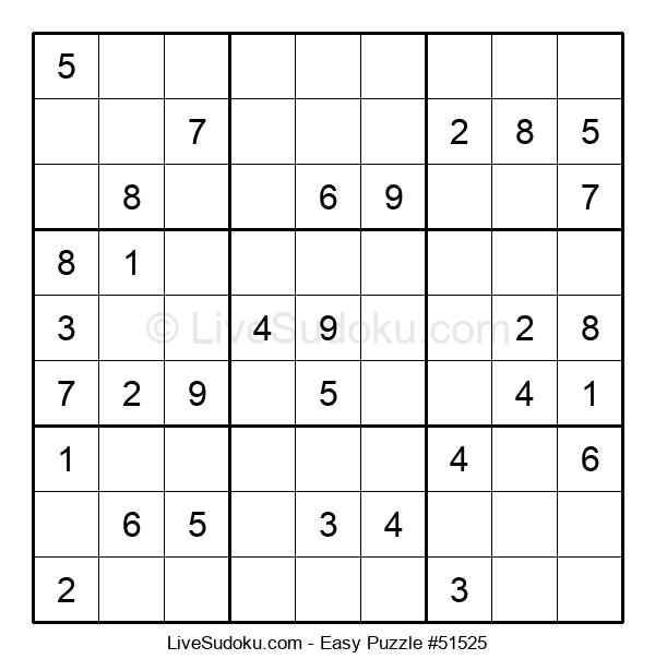 Beginners Puzzle #51525