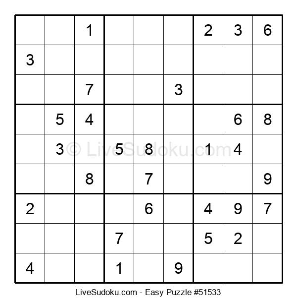 Beginners Puzzle #51533