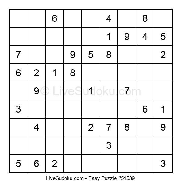 Beginners Puzzle #51539