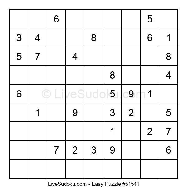 Beginners Puzzle #51541
