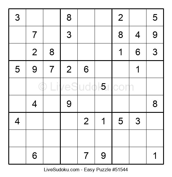 Beginners Puzzle #51544