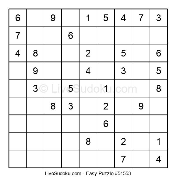 Beginners Puzzle #51553