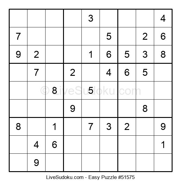 Beginners Puzzle #51575