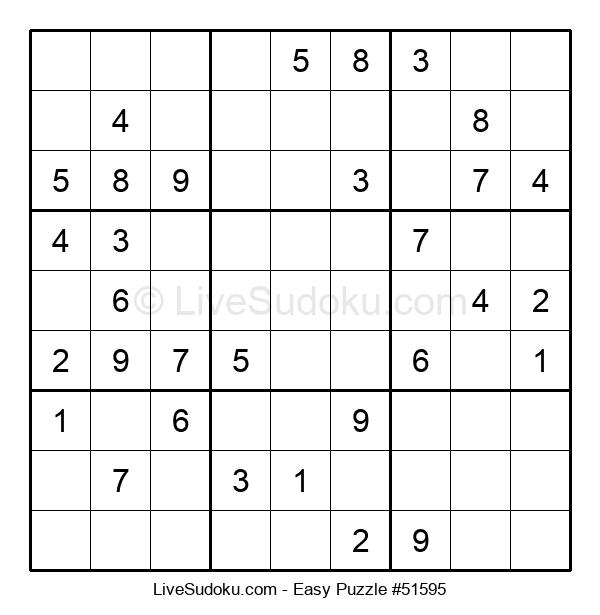 Beginners Puzzle #51595