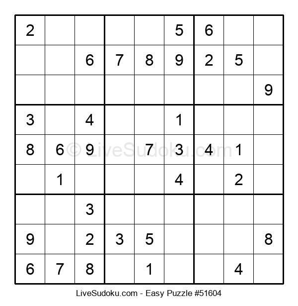 Beginners Puzzle #51604