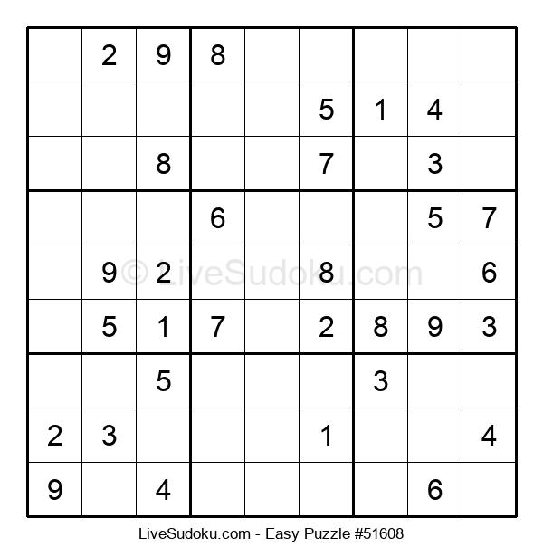 Beginners Puzzle #51608
