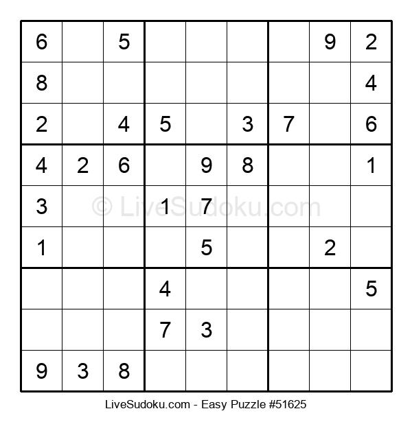 Beginners Puzzle #51625