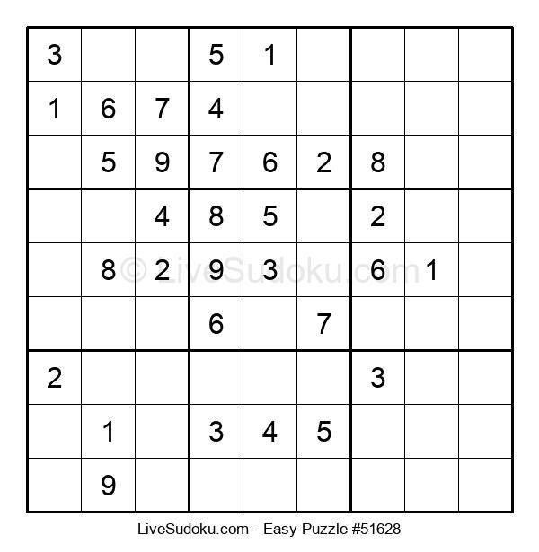 Beginners Puzzle #51628