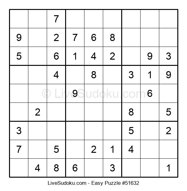 Beginners Puzzle #51632