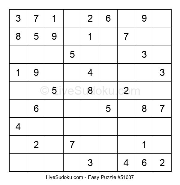 Beginners Puzzle #51637