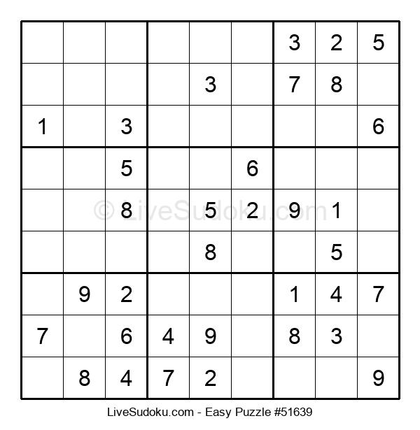 Beginners Puzzle #51639