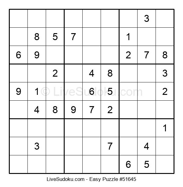 Beginners Puzzle #51645