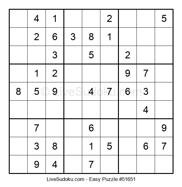 Beginners Puzzle #51651