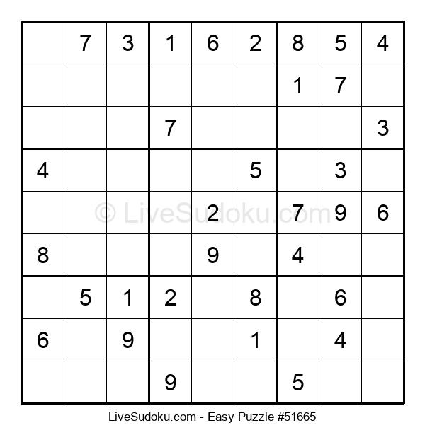 Beginners Puzzle #51665