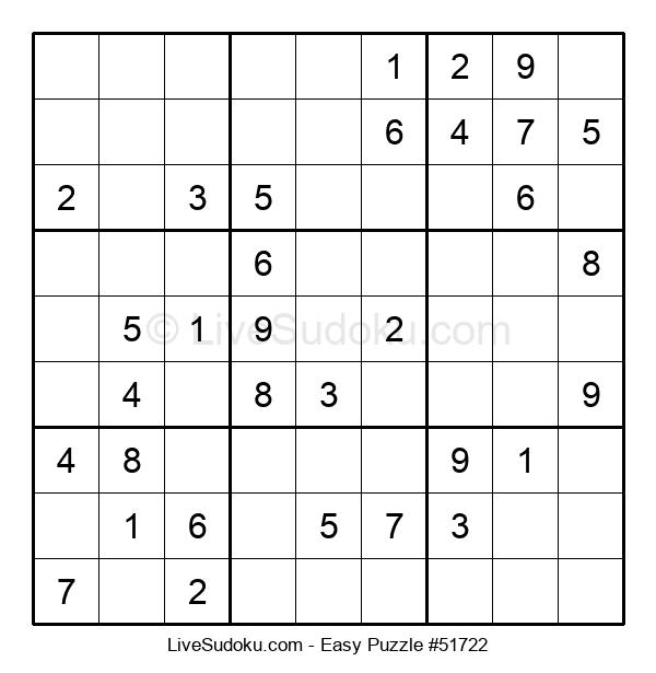 Beginners Puzzle #51722