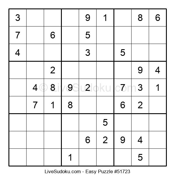 Beginners Puzzle #51723