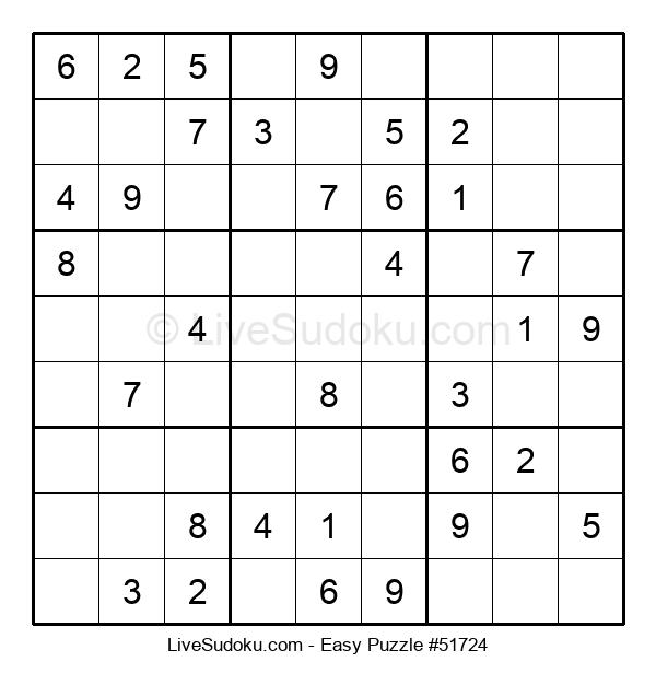 Beginners Puzzle #51724