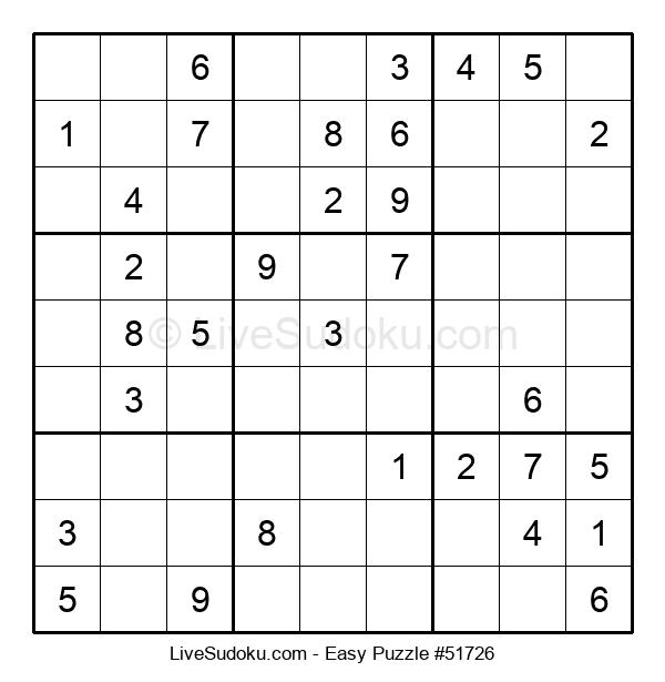 Beginners Puzzle #51726