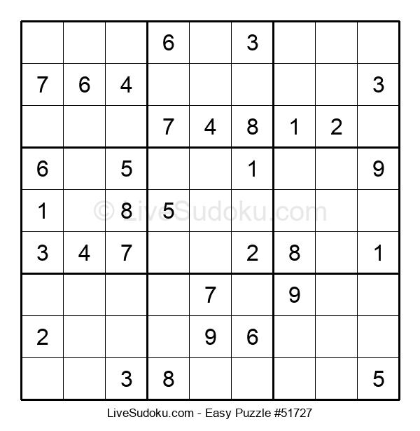 Beginners Puzzle #51727