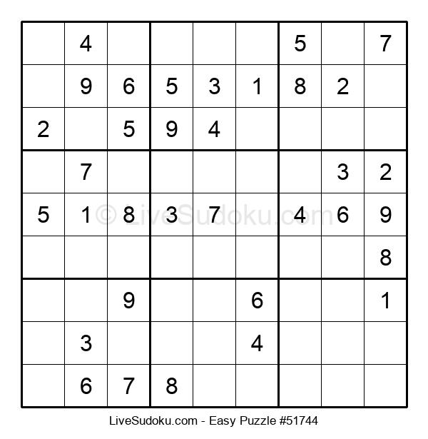 Beginners Puzzle #51744