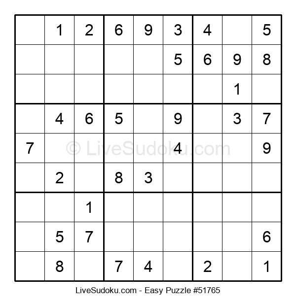 Beginners Puzzle #51765