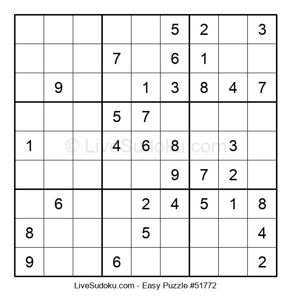 Beginners Puzzle #51772