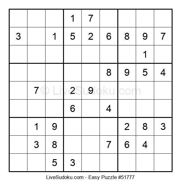 Beginners Puzzle #51777