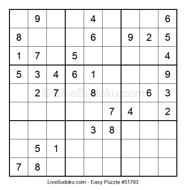 Beginners Puzzle #51793