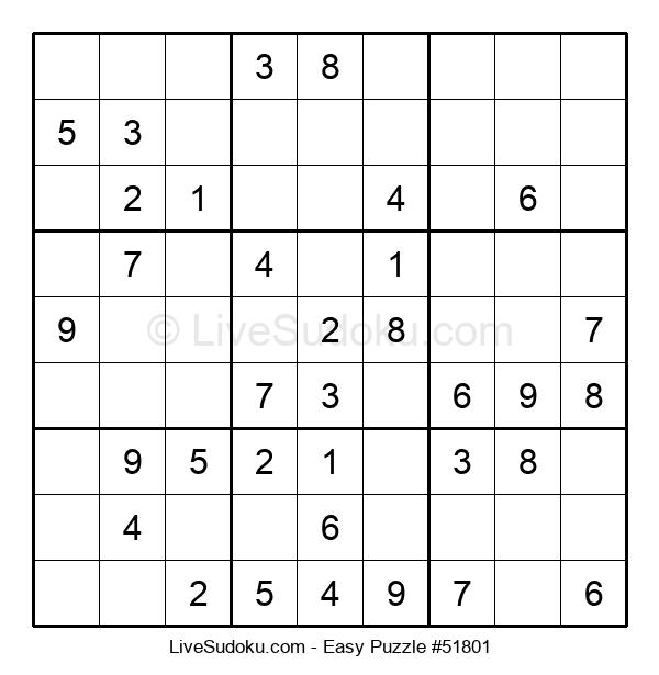 Beginners Puzzle #51801