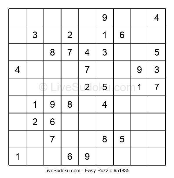 Beginners Puzzle #51835