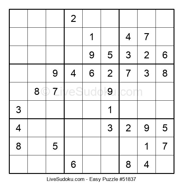 Beginners Puzzle #51837