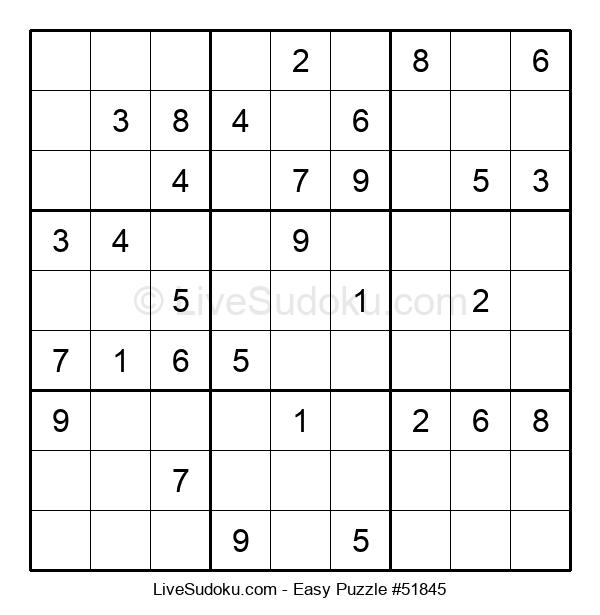 Beginners Puzzle #51845