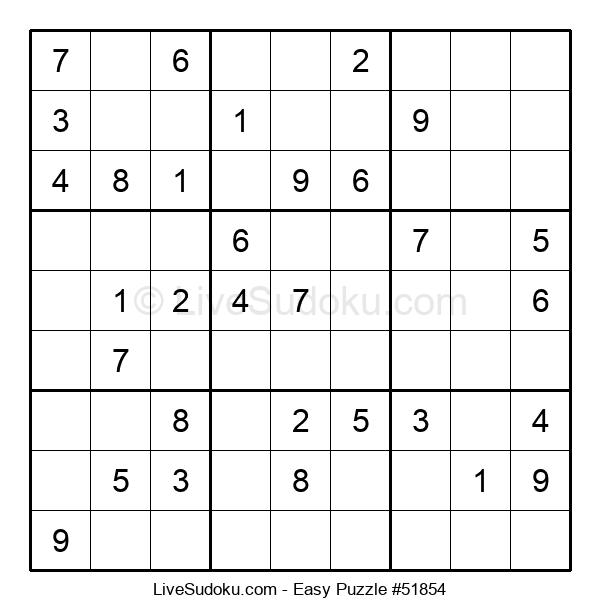 Beginners Puzzle #51854