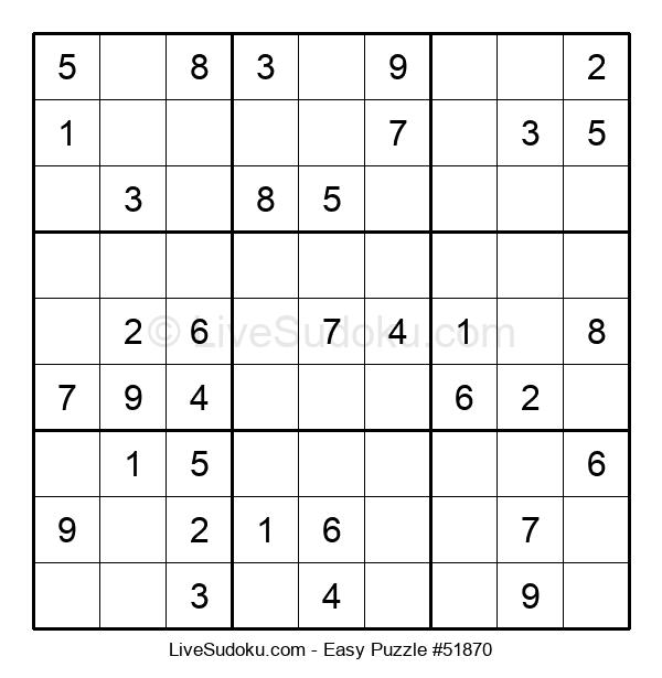 Beginners Puzzle #51870