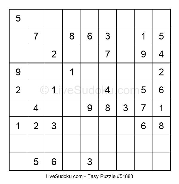 Beginners Puzzle #51883