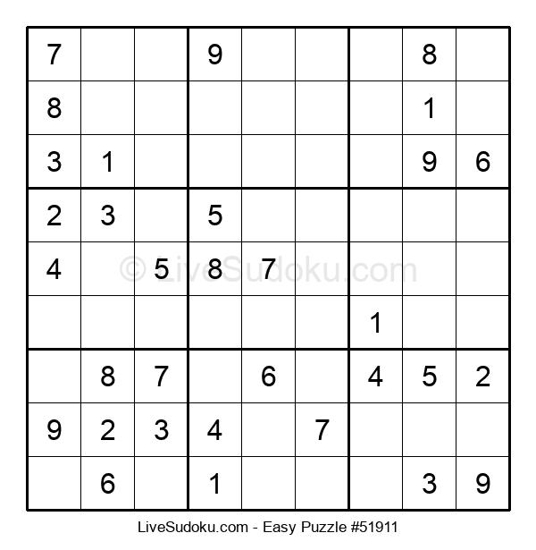 Beginners Puzzle #51911