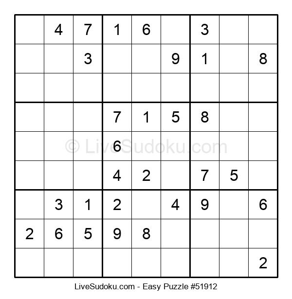 Beginners Puzzle #51912