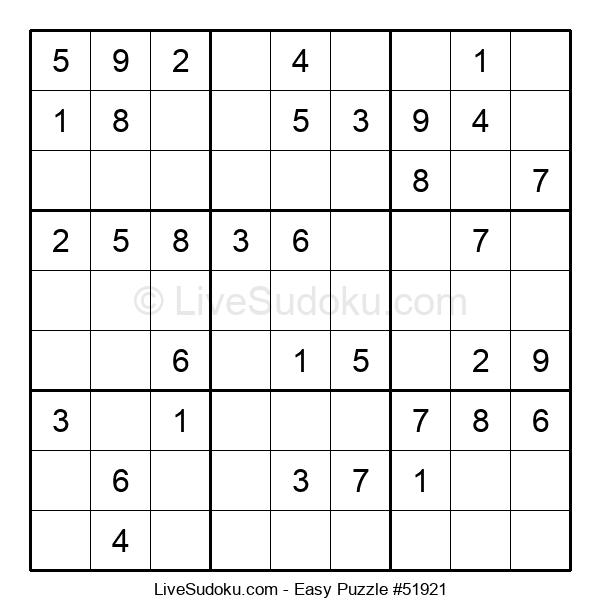 Beginners Puzzle #51921