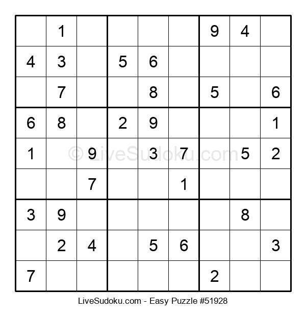 Beginners Puzzle #51928