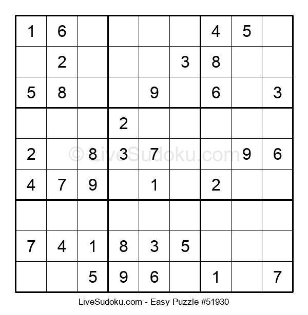 Beginners Puzzle #51930