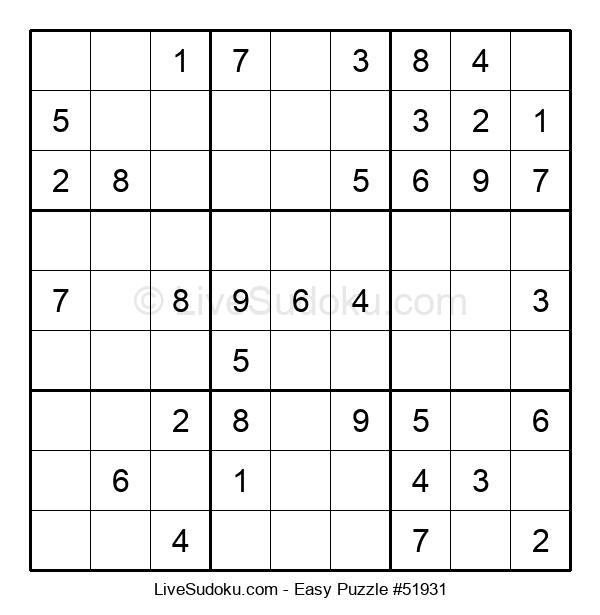 Beginners Puzzle #51931