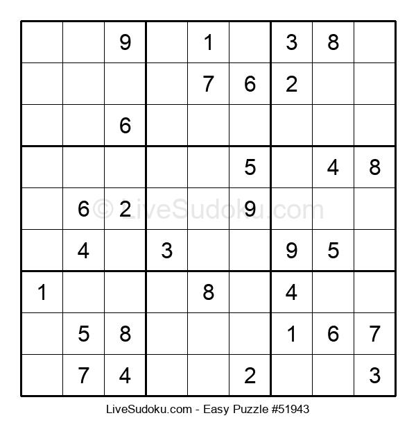 Beginners Puzzle #51943
