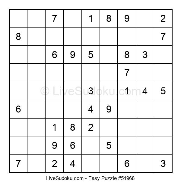 Beginners Puzzle #51968