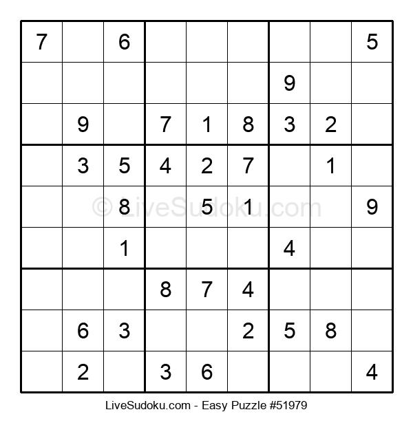Beginners Puzzle #51979
