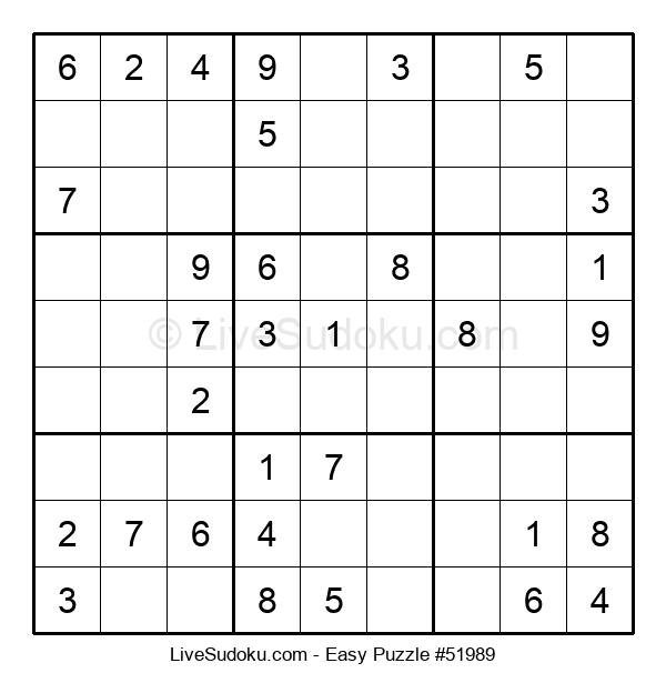 Beginners Puzzle #51989