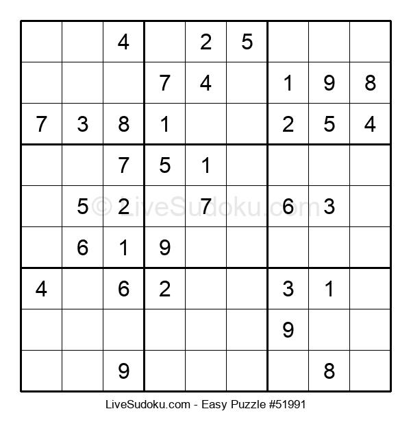 Beginners Puzzle #51991